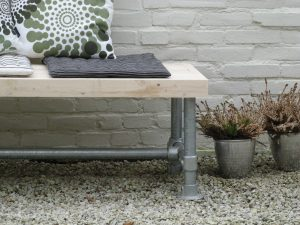 Steigerbuis bankje/tafel GSD-COLLECTION-426