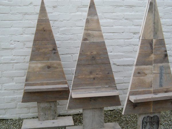 Kerstboom van steigerhout-0
