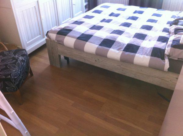 Steigerhouten bed-727