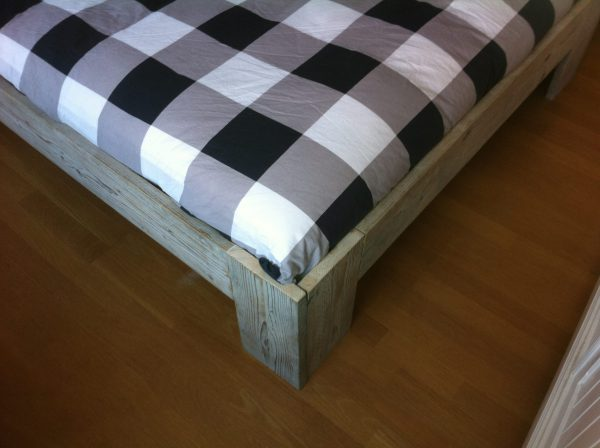 Steigerhouten bed-724