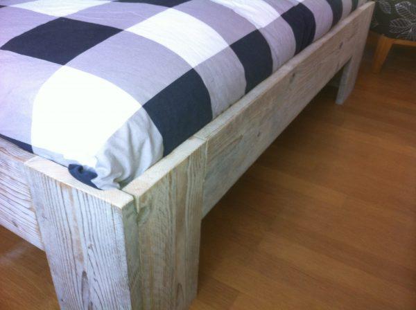 Steigerhouten bed-725
